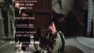 Дубли из фильмов Джеки Чана. Часть 1