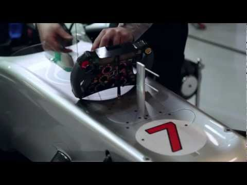 Michael Schumacher explains the start procedure in F1