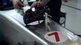 Michael Schumacher explains the start procedure in F1