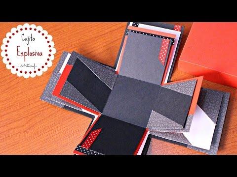 Como Hacer Una Caja Explosiva Para El Novio San Valentín Youtube
