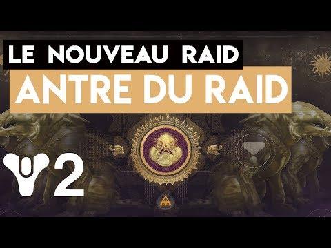 [DESTINY 2 LIVE] NOUVEAU RAID - L'ANTRE DU RAID