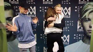 MEETING MARCUS AND MARTINUS - SURPRISE !