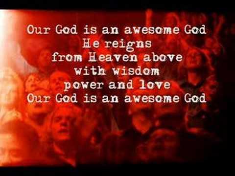 AWESOME GOD