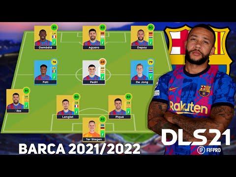 tải dream league soccer 2019 hack full chỉ số - Xây dựng đội hình BARCELONA 2021/2022 trong Dream League Soccer 2021