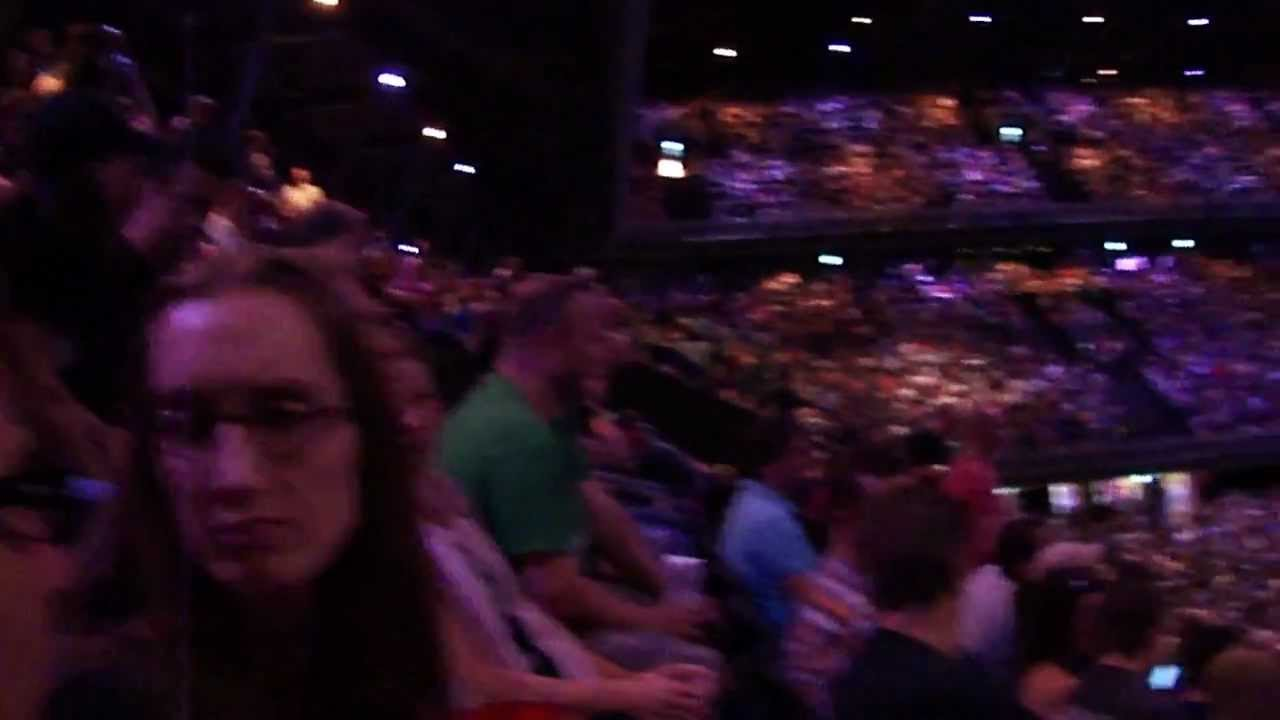 New Overview Ziggo Dome Amsterdam from section102 - YouTube &TX83