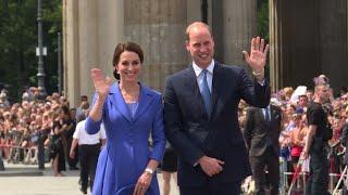 Germany: William, Kate visit Brandenburg Gate