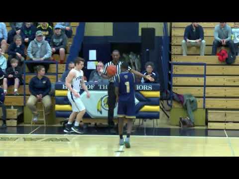 Varsity Boys Basketball vs. New Mission 3/1/18