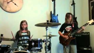Little Bird by The White Stripes performed by 9 and 7-year old
