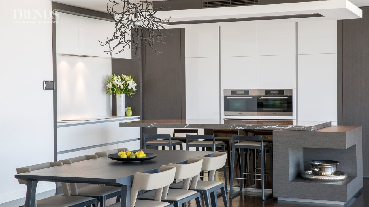 this kitchen features a fully equipped working scullery tucked out of sight youtube. Black Bedroom Furniture Sets. Home Design Ideas