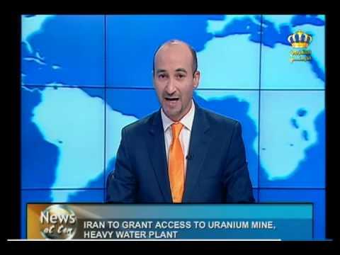 English News At Ten In Jordan Television 11-11-2013