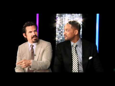 Will Smith and Josh Brolin talk Men in Black III with T4