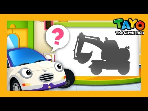 Car Academy l English Game #6 l Learn Street Vehicles l Tayo the Little Bus