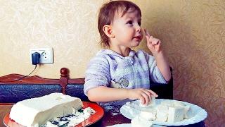 Люба готовит  домашний зефир