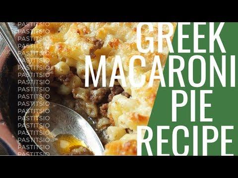 Pastitsio - Greek Macaroni Cheese Pie
