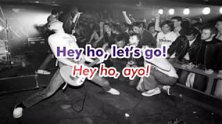 Ramones - Blitzkrieg Bop Lirik dan Terjemahan Bahasa Indonesia (Green Day Cover)