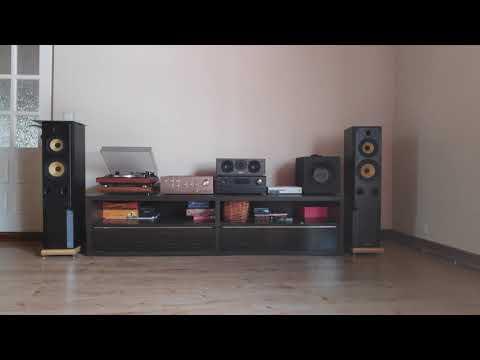 Dual CS 505-4 + Onkyo A7 + Heybrook HB4 Stereo Sound Test