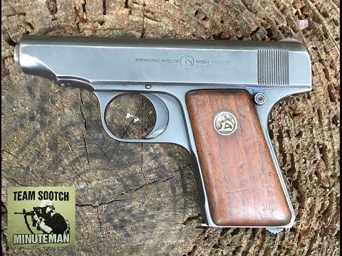 Deutsche Werke Ortgies Pistol 25 acp Pocket Pistol Review