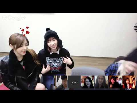 M COUNTDOWN CHAT with 2NE1