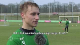 Ulrik Jenssen traint mee bij FC Groningen