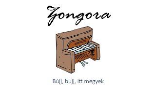 Hangszer ovi - Bújj, bújj, itt megyek (zongora) / Hungarian children song (cat, cow, dog, animal)