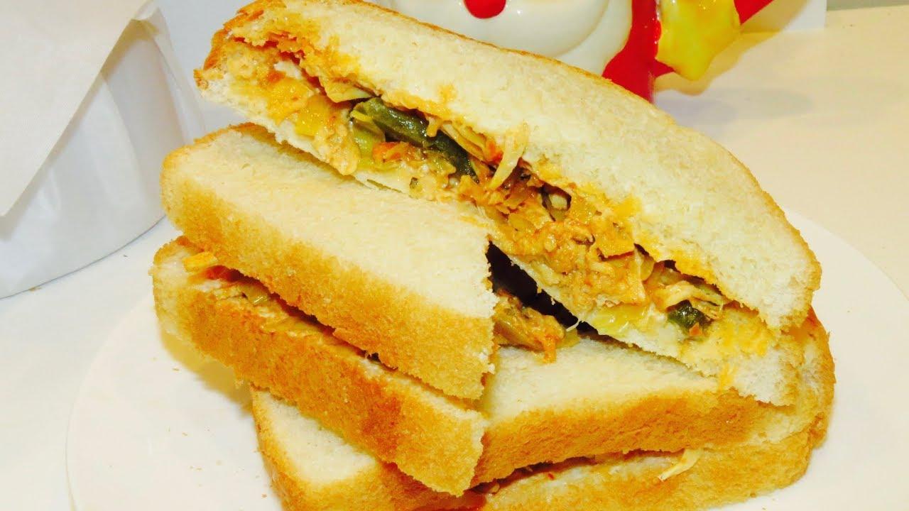 receta de sandwich de pollo para cumpleanos