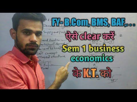 Important questions for business economic || FY Sem-1