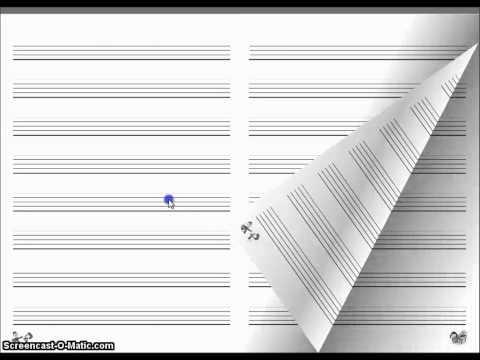 Dolce Music - Manuscript Book 3