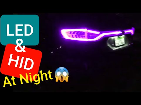 Ford Edge Hid/led Lights At Night