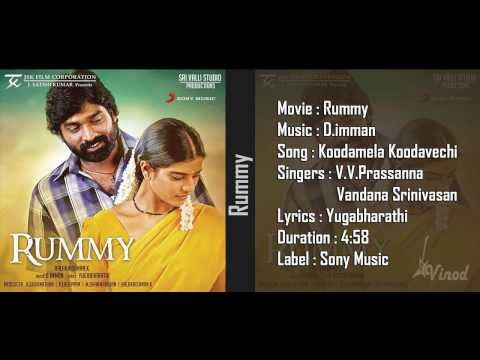 Koodamela Koodavechi - Rummy Movie Audio Song 1080p