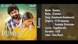 Koodamela Koodavechi - Rummy Movie Audio Song 1080p