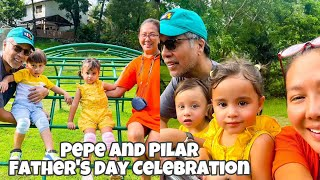 KORINA SANCHEZ FAMILY FATHERS DAY CELEBRATION SIMPLE IDEA DAY OUT WITH THE TWIN PEPE AND PILAR