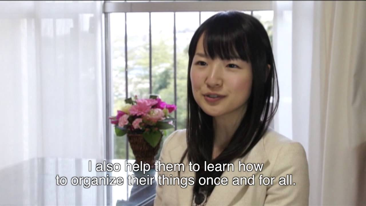 Changing magic of tidying up by marie kondo book trailer youtube