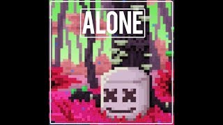 marshmello alone 8Bit cover