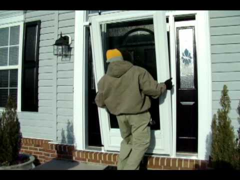 Gentil Provia Storm Door Installation.avi   YouTube