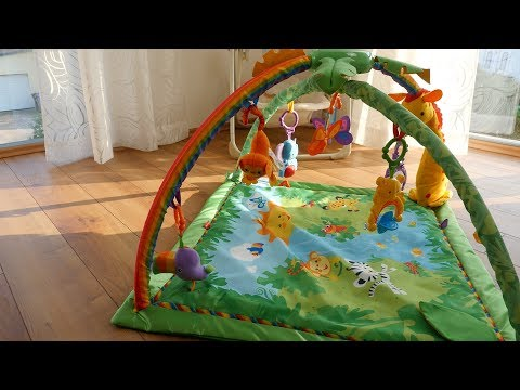 Mattel K4562 - Fisher-Price Rainforest Erlebnisdecke Im TEST