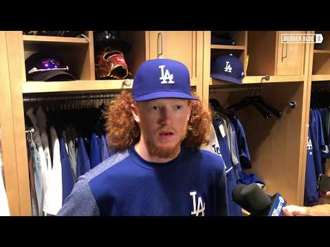 Dodgers postgame: Dustin May reflects on 'awesome' MLB debut