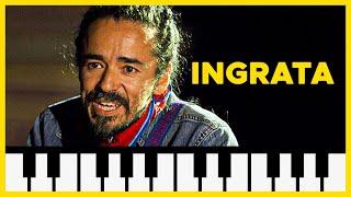 """Como tocar: """"Ingrata"""" de Café Tacuba [ MELODICA ][ TUTORIAL ][ NOTAS ]"""