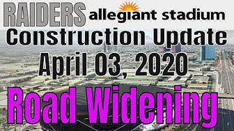 Las Vegas Raiders Allegiant Stadium Construction Update 04 03 2020