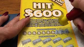 $10 -HIT $600 NEWER TICKET! Lottery Bengal Scratching Scratch Off instant win tickets