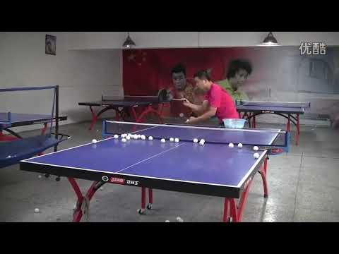 Download Super Backspin / Downspin Service In Table Tennis 乒乓球回旋发球练习 (强下旋 重下旋 魔鬼发球)