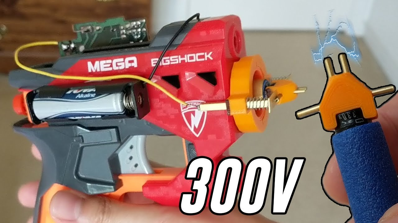 You Should Not Try These Taser NERF Darts | Hackaday
