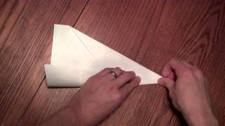 How To Make A Fast-flying Paper Airplane- The 'arrow'