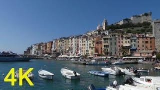 Porto Venere Italy, Amazing 4k video ultra hd fz300