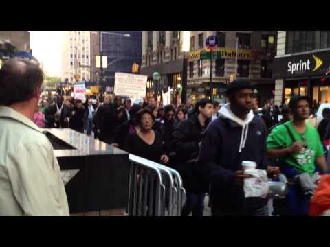 Zuccotti Park - Occupy Wall Street Protest