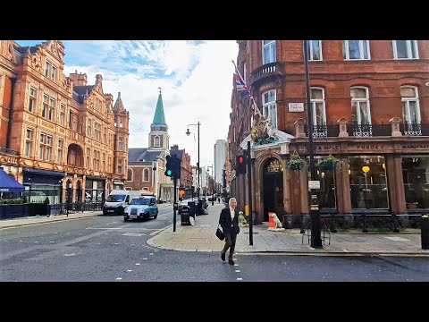 Walking in London's Mayfair and The Dorchester Hotel | London Walk 2020