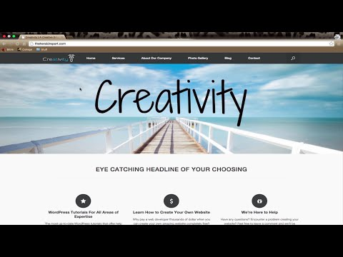 how to make a wordpress website for beginners 2016