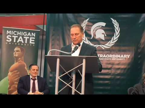 Tom Izzo thanks Dan Gilbert for $15 gift to Michigan State