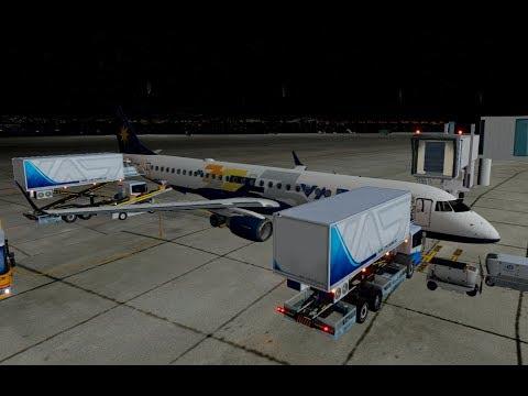 XP11] Embraer 195 | Galeão – Confins | Varig | FlightSim Planet