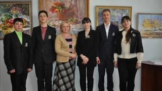 Презентація команди-призера обласного турніру юних істориків