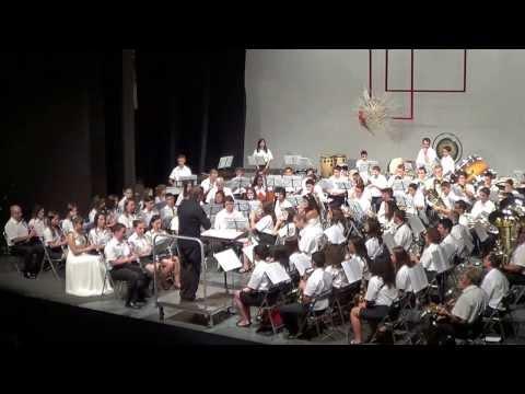 Concert Festes Fantasma de l'Òpera J de Meij Banda de Música d' Ulldecona